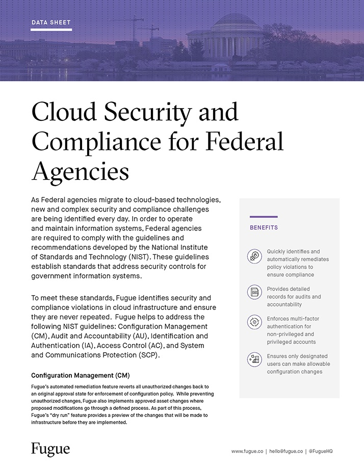 Cloud Security and Compliance for Federal Agencies