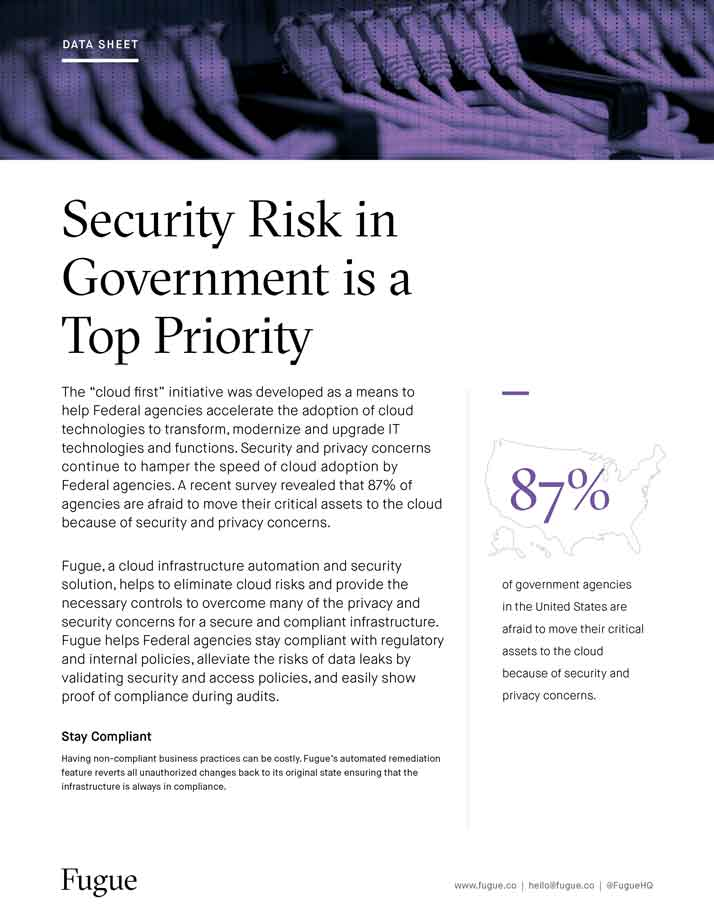 Security Risk in Government is a Top Priority