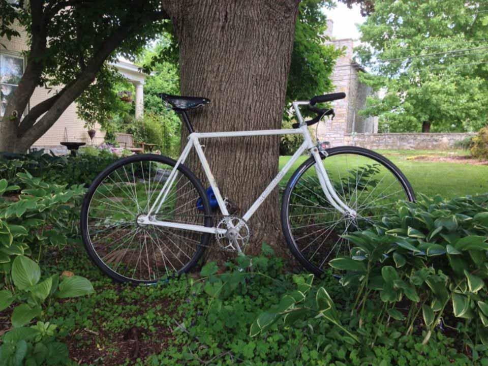 1933 steel bicycle