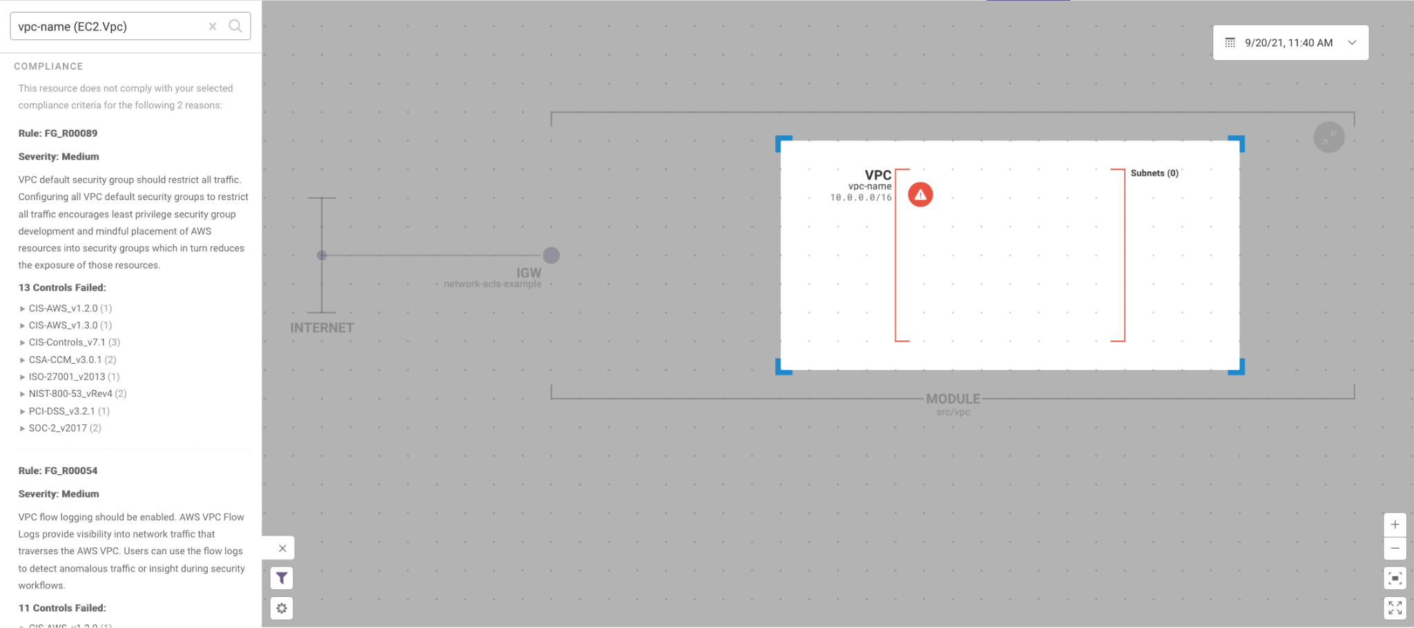 Resource Visualizer 2 - IaC Security