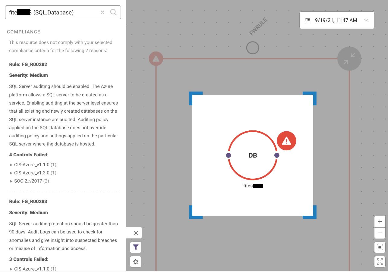 Resource Visualizer 3 - Compliance Violations